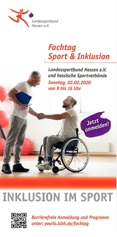 Fachtag Sport & Inklusion am 02.02.2020